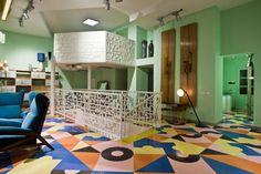 Fragile / Atelier Mendini #interior #design #architecture #pattern