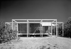 » Walker Guest House by Paul Rudolph, 1953 :minimalicious #archtitecture #rudolph #house