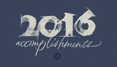 2016 accomplishments - Joan Quirós #calligraphy
