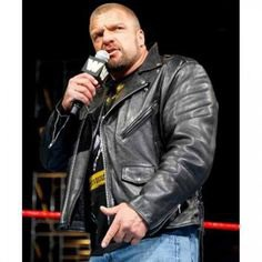 One of the Most Famous WWE Wrestler Triple H has turned 50 Years old today. Let's wish him a great tribute on his birthday. Here is His Black Leather Jacket. #happybirthday #tripleh #paulmichaellevesque #wwe #wweraw #wwf #wrelstemania #wwestar