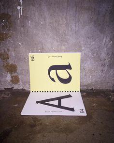 #typography #print #type