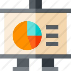 See more icon inspiration related to business and finance, pie chart, presentation, financial, statistics, chart and graphic on Flaticon.