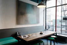 lingered upon #cafe #furniture #painting