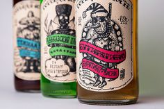 Gorkaya Yunost - Bitter Youth, Concept by Unblvbl (https://www.behance.net/Unblvbl) The concept of cocktails Gorkaya Yunost (Bitter Youth). #whiskey #dotwork #alcohol #design #label #concept #unblvbl #skull #cocktail #tequila #cola