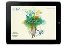 HHMI iPad App: Broadening the Reach of Scientific Discovery | VSA Partners #bulletin #vsa #ipad #hhmi #digital #illustration #partners