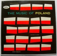 All sizes | 1960s THE MUSIC OF POLAND Graphic Mod Cover LP record design VINTAGE album vinyl | Flickr - Photo Sharing! #album #capital #record #cover #poland