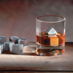 Whiskey Stones - IPPINKA No more melting ice cubes in your drinks with the Whiskey Stones. These stones are made out of 100% natural Carelian soapstone which naturally retains cold and rejects odors. This means your drinks will stay cold and tasty, just how you like it!