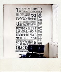 Wall Stickers #type #wall #ticker #typography