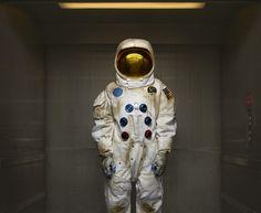 Crash Landed #astronaut #photography