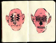 Krista Perry - Sketchbook No. 3 #illustration #sketchbook #moleskin