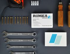 Rimea - graphicwand #business #construction #card #brand #building #identity