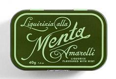 Typography / menta