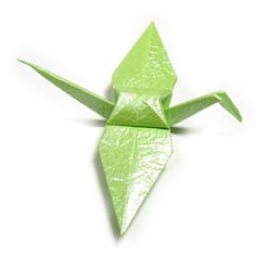 How to make a traditional origami crane (http://www.origami-make.org/howto-origami-crane.php)