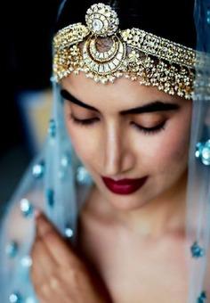 gold and pearl maatha patti