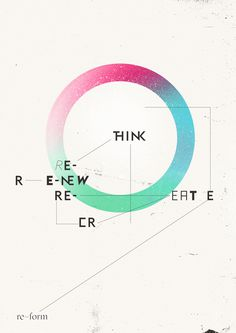re-form by empk re-form studio #illustration #poster