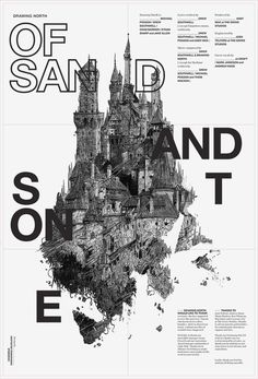 Of Sand and Stone on Behance #design #graphic
