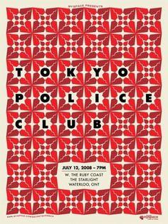 50 Amazing Gig Posters » ISO50 Blog – The Blog of Scott Hansen (Tycho / ISO50) #music #gig #poster