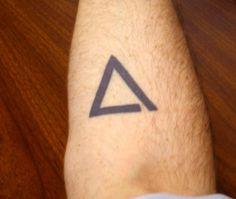 Open Triangle #tattoo