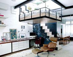 50 Small Studio Apartment Design Ideas (2019) – Modern, Tiny & Clever - InteriorZine #design #furniture #modernfurniture #interior #decor #bed