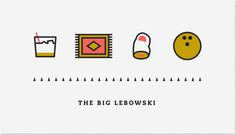 Kyle Tezak | Art Sponge #movie #illustration #lebowski #icons