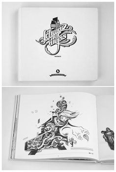 Schwarz auf Weiss II book by ~pal #illustration #book