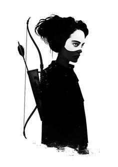 #art #blackandwhite #woman