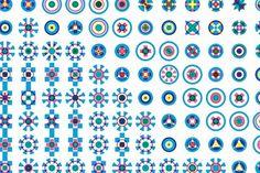 Maharam Digital Projects at VitraHaus #wallpaper #pattern #wall #circle