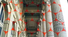 Geometric Projection by Felice Varini in Paris   Imgur