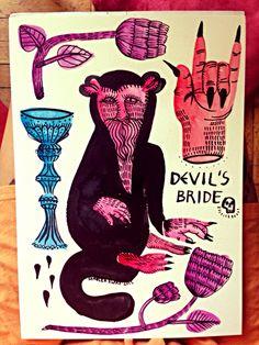 Devils bride #bride #devils