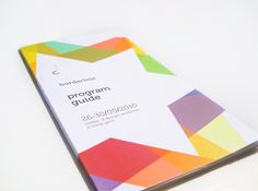 Borderline on the Behance Network #guide #print #design #graphic #program #colorful #borderline