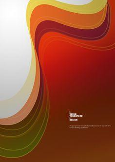 Just a poster on the Behance Network #think #design #colours #poster
