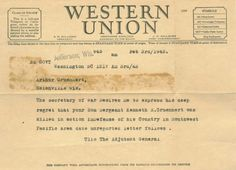 Telegram 1943 + xoxo #telegram #war #vintage