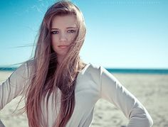 Victoria Bee Photography on the Behance Network #beach #photograhpy #portrait