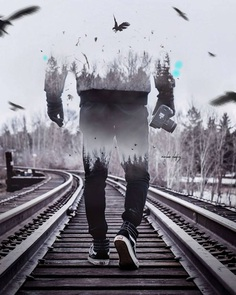 Photo Manipulations and Double Exposure Creations by Maulana Elwafiey