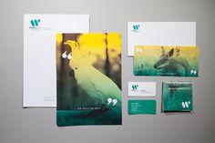 Wildlife Victoria Identity, Clara Tan, 2012 #australia #branding