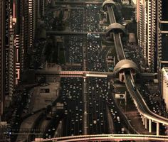 Amazing Aerial Cityscape