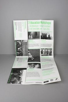 LOA+DS Education Workshops Guide A2Poster/Mailer on the Behance Network #design #editorial