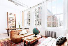 at home with jonah hill / sfgirlbybay #interior #design #decor #deco #decoration