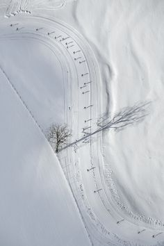 Bernhard Lang #photography #white #snow