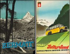 Vintage Travel Posters of the Boston Library (NOTCOT)