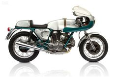 Replica Green frame Ducati 750 SS #vintage #motorcycle #machine #replica #deus ex machina
