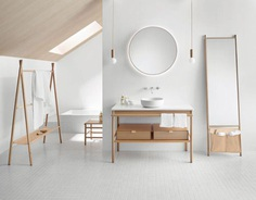 Mya collection by Lievore Altherr for Burgbad