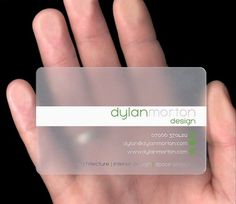 40 Architects' Business Cards for Delivering Your Message the Creative Way | Freshome #card #corporative #design