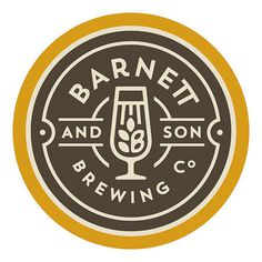 Barnett and Son Brewing Co. Logo #logo
