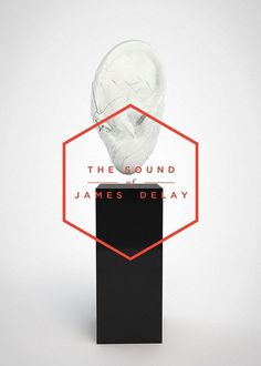 The sound of James Delay by Dimo Trifonov #hexagon #poster