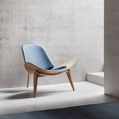 Carl Hansen - CH07 Schalenstuhl - Ambientebild #chair #furniture #furniture design #design