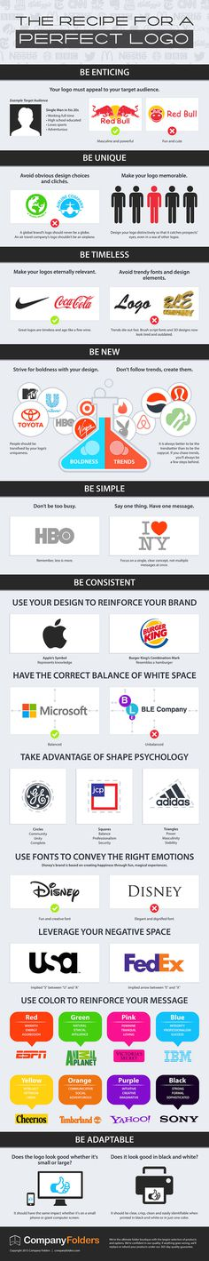 How to Design the Perfect Logo – Infographic