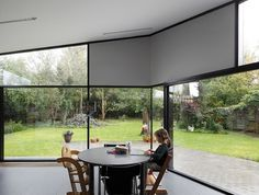 low architecten: tuinkamer #glass #architecture #houses