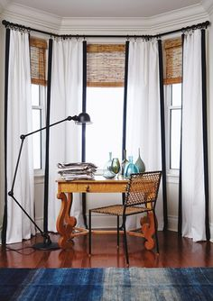lovely window treatments. Rent Direct.com Apartments for Rent in New York City With No Broker Fee. #lamp