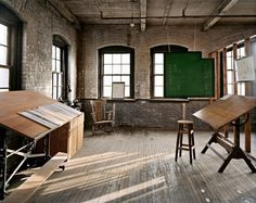 Henry Ford's Design Studio for the Model T, Piquette Plant #burtynsky #photography #atelier #edward